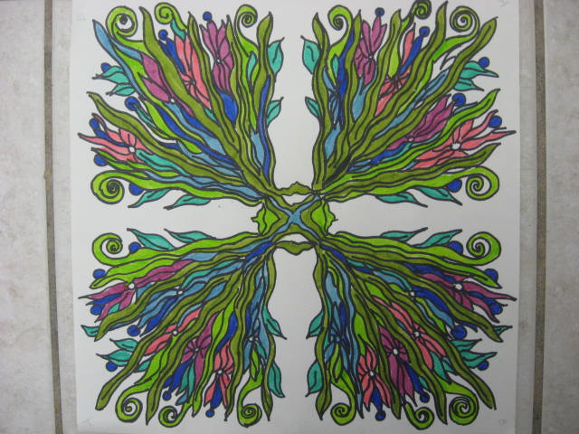 Radial Design Art : Marymaking radial symmetry designs
