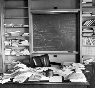 The Rumbling: Archives: Einsteins Desk