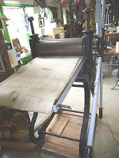 My sweet etching press