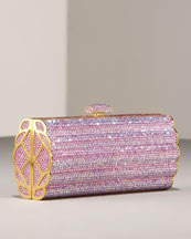 Designer's House: Fluted Beaded Clutch by Judith Leiber
