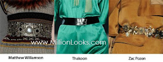 Designer's House: Accessorize Your Dress with this Belt Trends for Autumn 2009-Winter 2010 :  with dress trend autumn