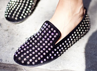 Designer's House: Sparkling Flats from Christian Louboutin :  houselatest louboutin christian flats