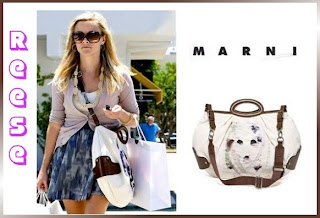 Designer's House: Reese Witherspoon with her Marni Balloon Handbag