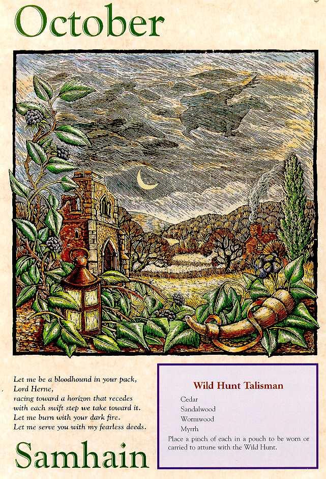 Acbal's Moon: Samhain Lore