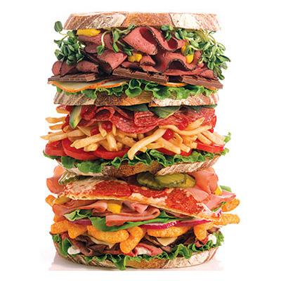 Y una gaseosa dietetica, porque estoy a dieta...
