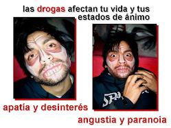 las drogas te afectan