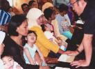 Penyandang cacat & Wali Kota Palembang