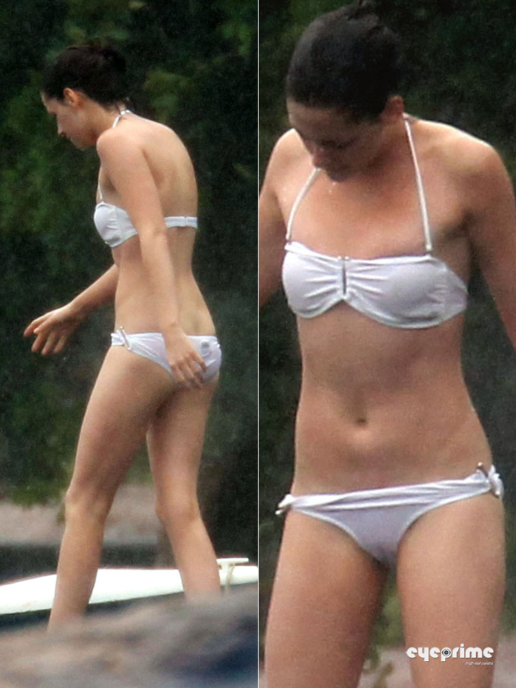 Kristen Stewart in a Bikini on