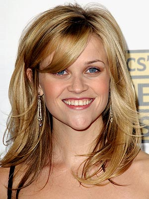 reese witherspoon long hair with bangs. Long Hairstyles Without Bangs.