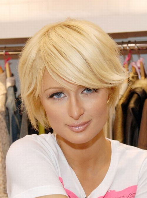 Paris Hilton Blonde Celebrity Hairstyles