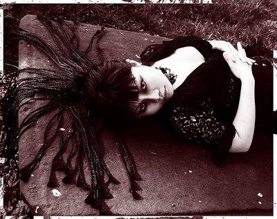 cyber goth hairstyles. goth punk hairstyles.