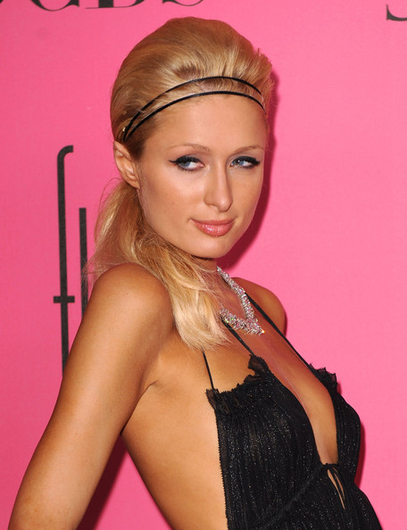Paris Hilton's Ponytail Hairstyles