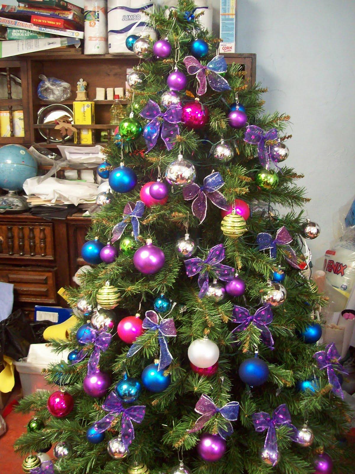 Shexeldetallitos blog de manualidades diciembre 2010 - Arbol navidad colores ...