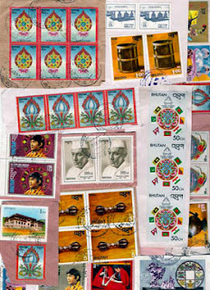 Bhutanese stamps