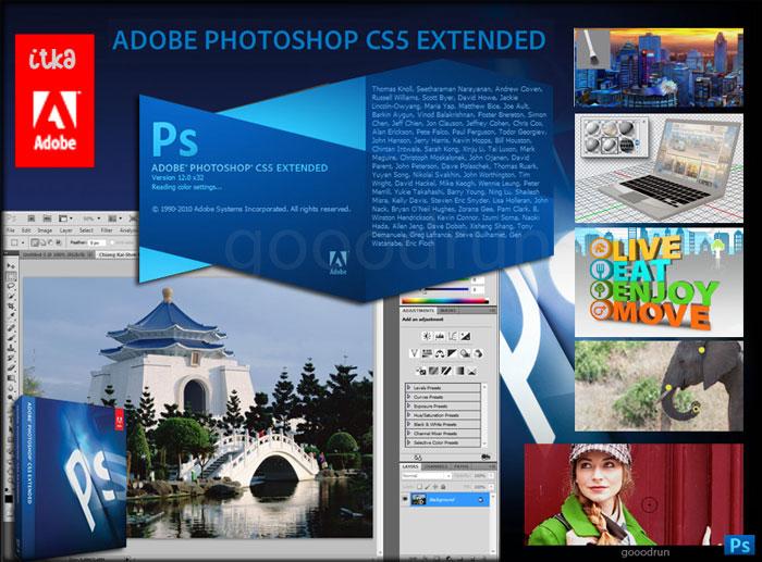 Adobe photoshop cs5 9 extended edition diz