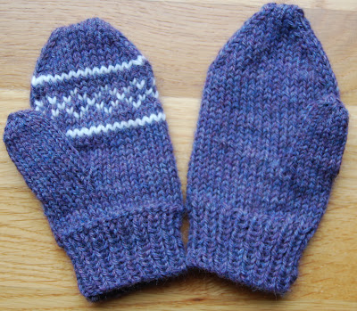 KNITTING MITTENS ON CIRCULAR NEEDLES Free Knitting Projects