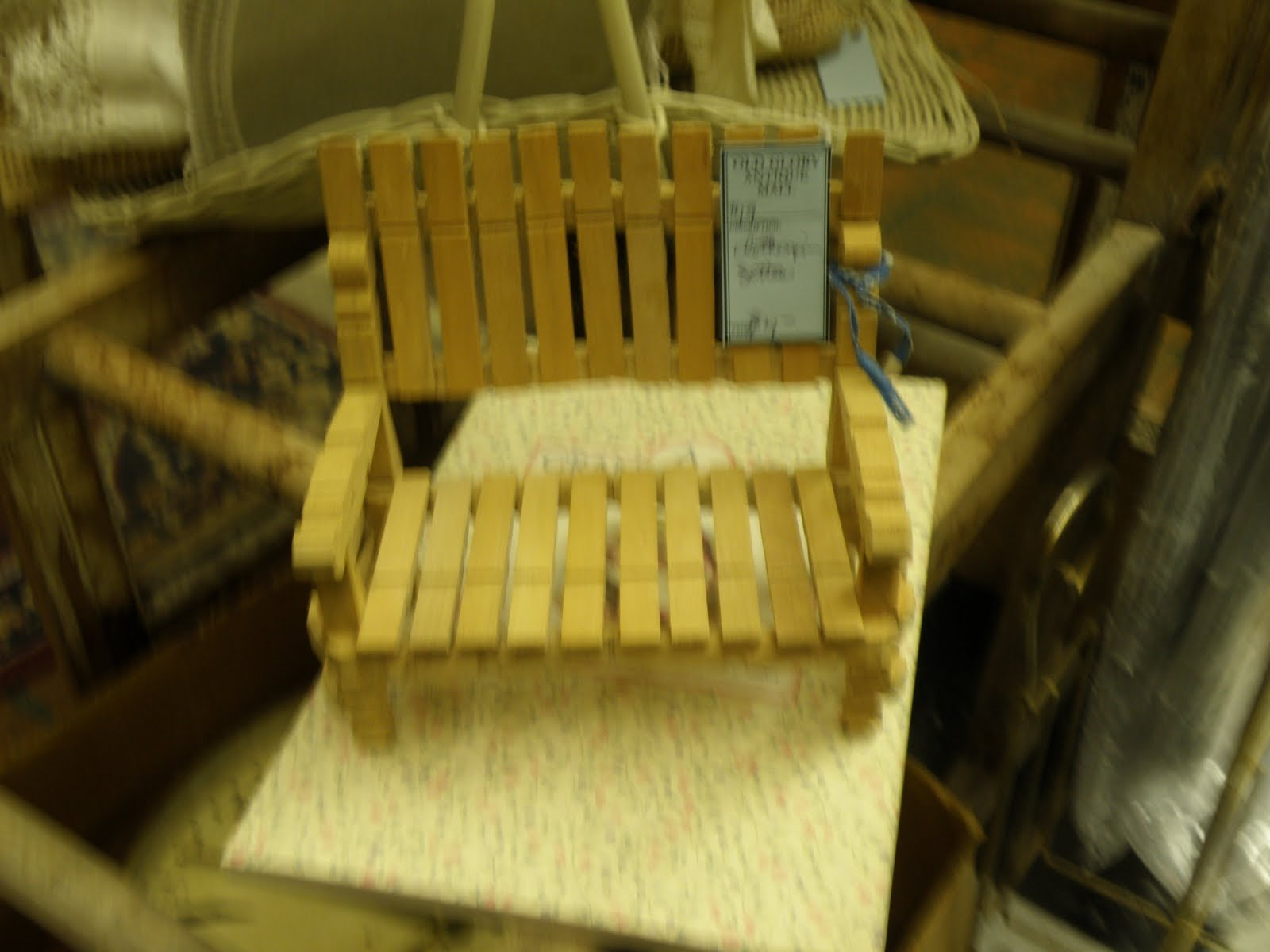 For The Love Of Benches Continued Clothespin Mini Bench