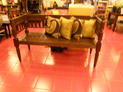 For the Love Of Benches Continued . . .: Pier 1 -- Bench #