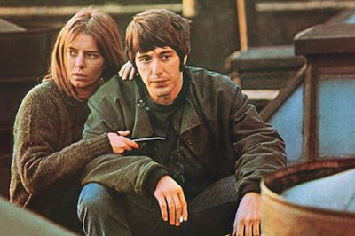 Al Pacino and Kitty Winn in The Panic in Needle Park