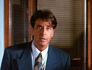 Al Pacino as real estate salesman Ricky Roma in Glengarry Glen Ross