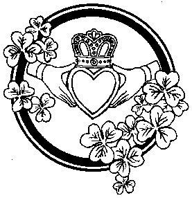 Caloway Creations: October 2009 Irish Loyalty Symbol Tattoo