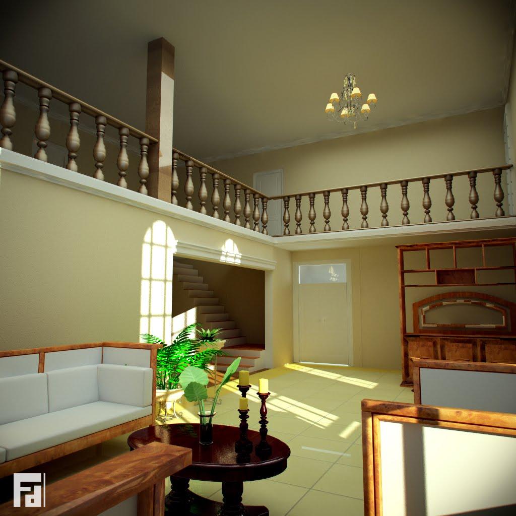 Fernando dur n portafolio casa colonial for Casas coloniales interiores