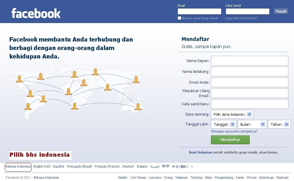Daftar Fb Baru Login Facebook Masuk Fb