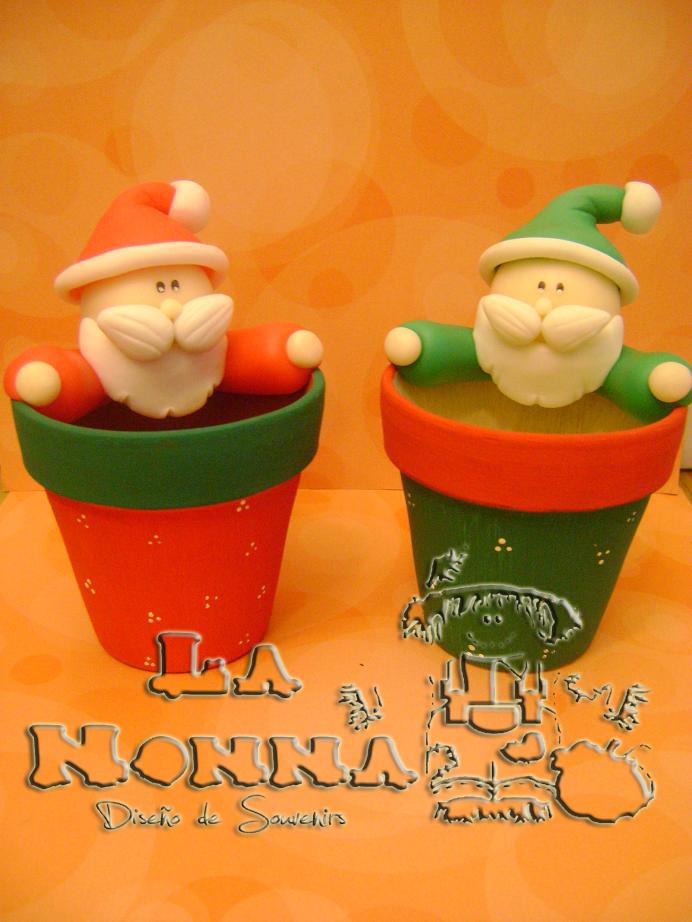 La nonna souvenirs porcelana fria decoracion navide a for Villas navidenas de porcelana
