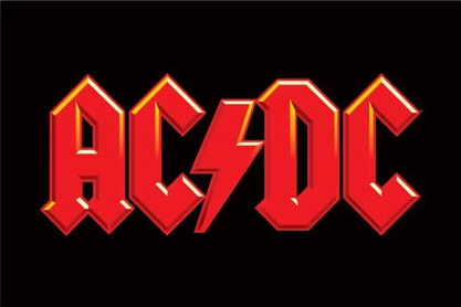AC/DC Leyendas vivas del rock ACDC+LOGO