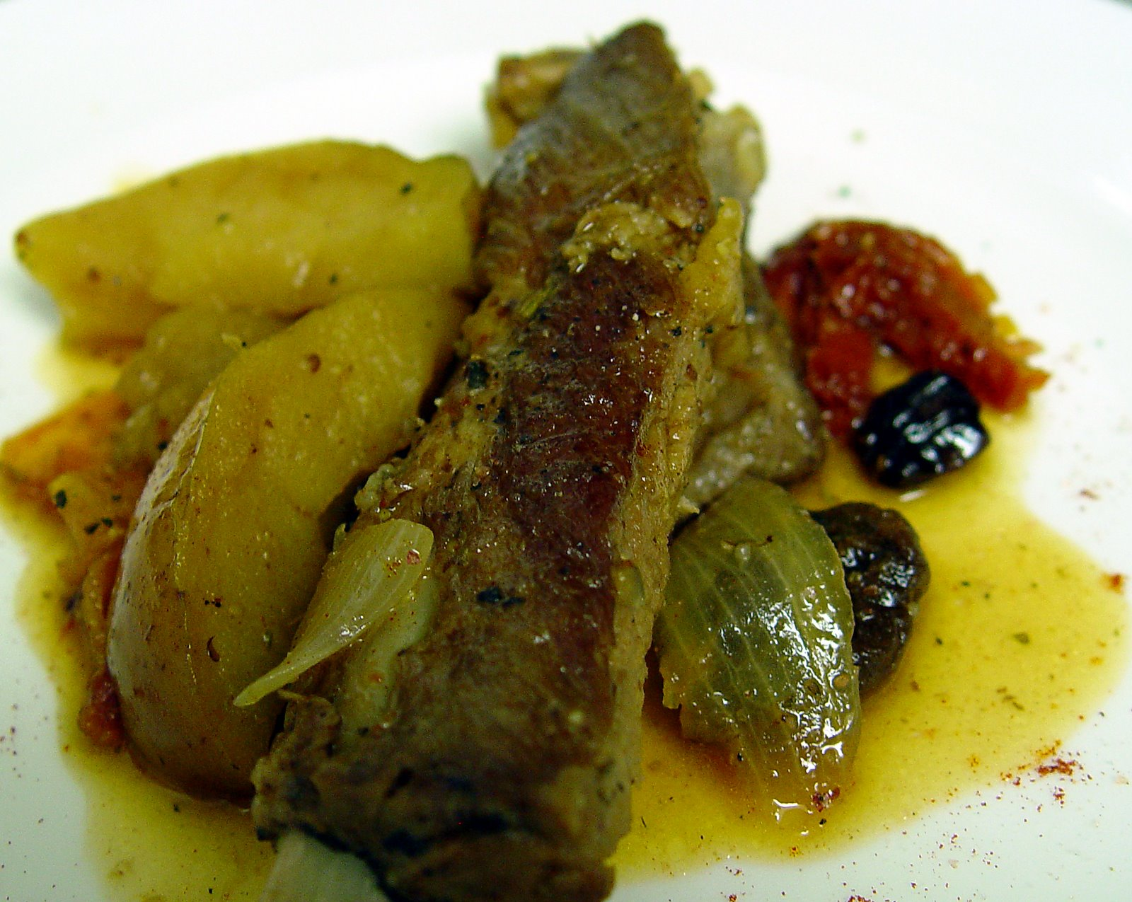The Errant Potter: Stewed Figs with Apples and Black Pepper