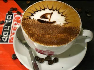 special mixed cofee with splendid art