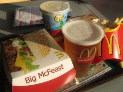 mcdonalds and beer is not good combination in germany