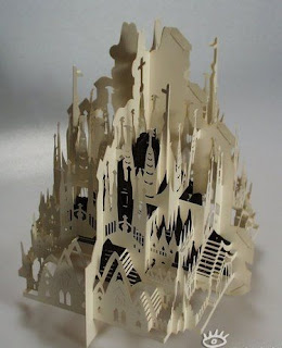 talented art of paper cutting