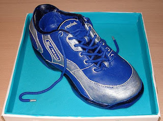 Would you dare to eat shoe? I mean cake shoe