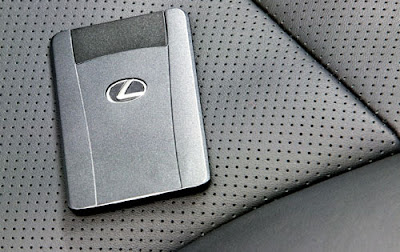 lexus luxury car with unbreakable locking system