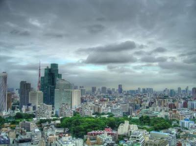 amazing building of tokyo