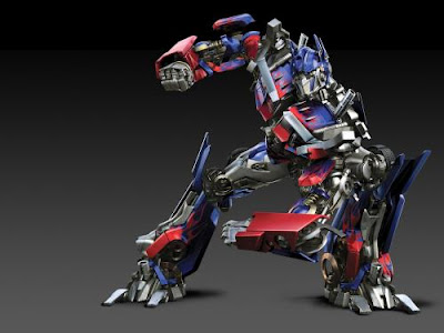 optimus prime of autobots