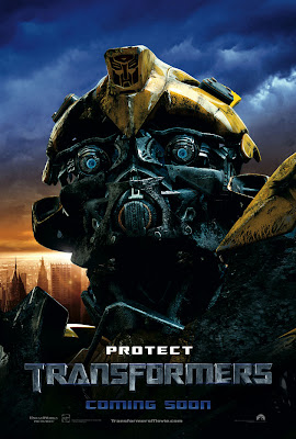 bumblebee standard head. in battle mode, he cover the lip