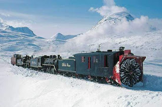 amazing railyway across arctic and antarctic