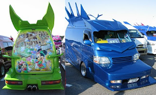 modified van competition in japan