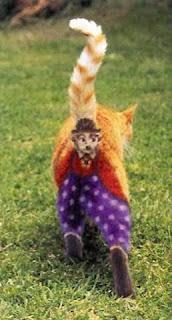 charlie chaplin on cat