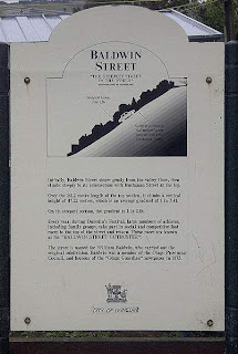 the sign about baldwin street