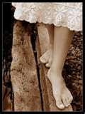 Descalza tus pies de la voluntad de querer ser tú el protagonista del camino.