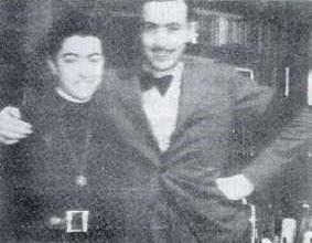 Rafael y su hermana Mercedes