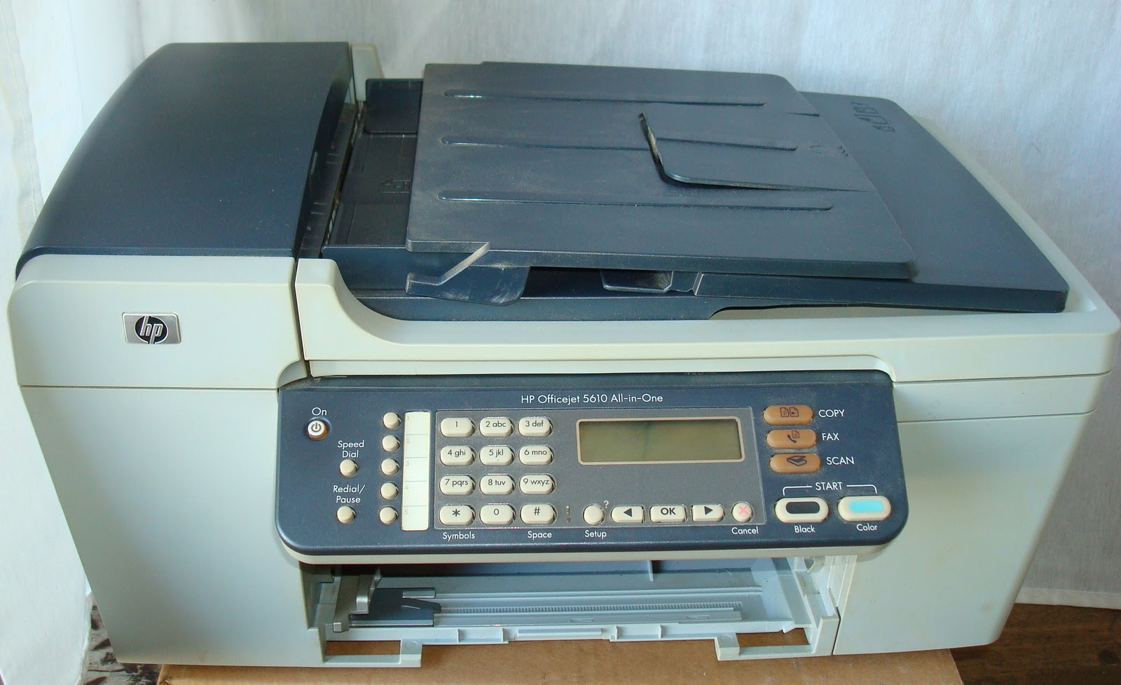 ic church auction 2010 hp officejet 5610 all in one. Black Bedroom Furniture Sets. Home Design Ideas