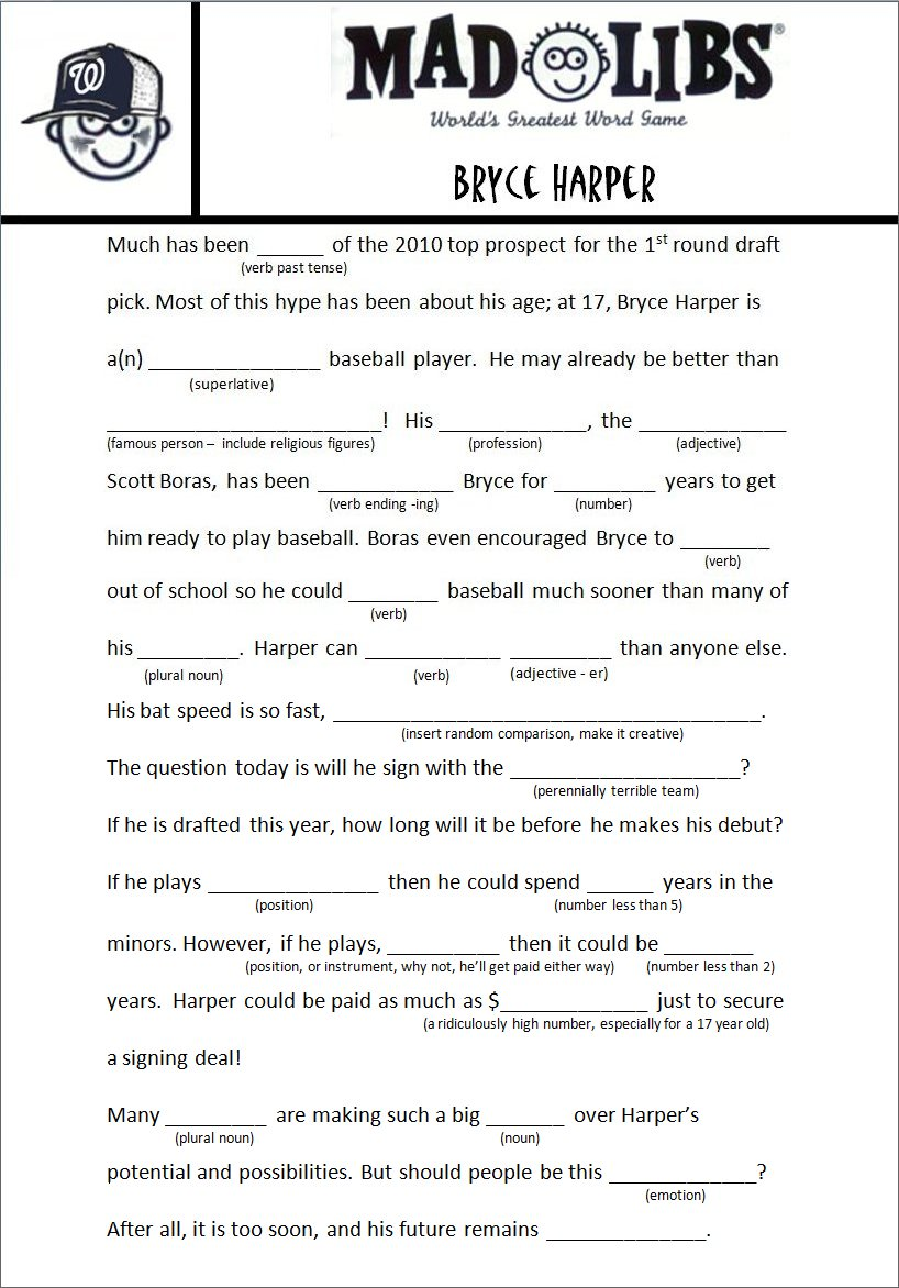Gallery For gt Dirty Mad Libs