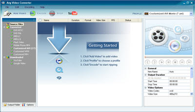 Hi-tech: Any Video Converter