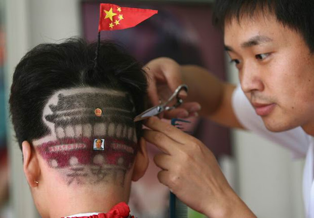 geeky and funny haircuts