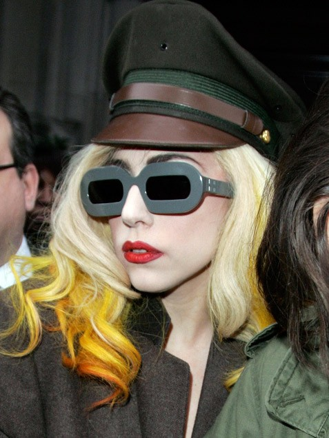 Lady Gaga Glasses. Amazing Glasses