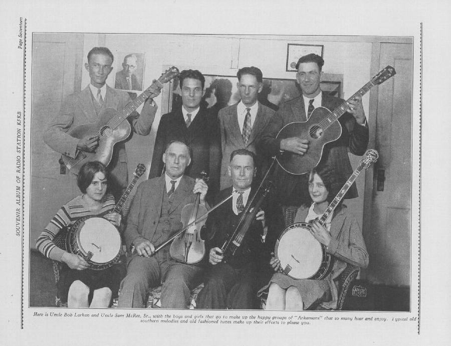 Fiddlin' Bob Larkan & Family Bob Larkan And Family Little Nellie's Waltz / Saturday Night Waltz